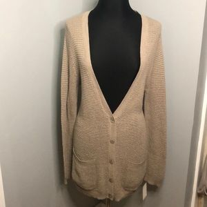 Abound Button Down Long Sweater Cardigan